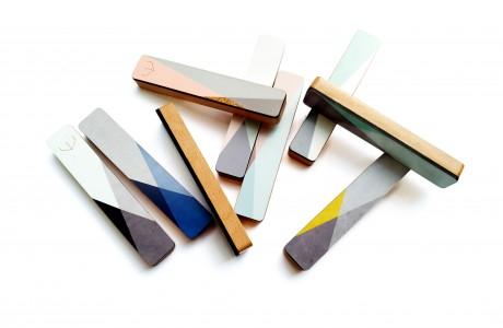 שש מזוזות גאומטריות מעוצבות לבחירה/מזוזה שישית מתנה/בית מזוזה מודרני מנימלסטי במבחר צבעים