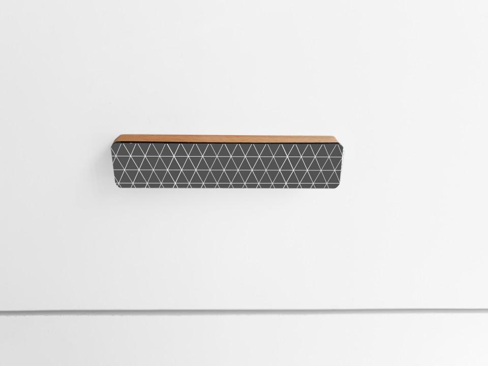 ידיות מעוצבות לארונות ומגירות/ידית דקורטיבית לשידת מגירות/ידית עץ בעיצוב מודרני ועכשוי