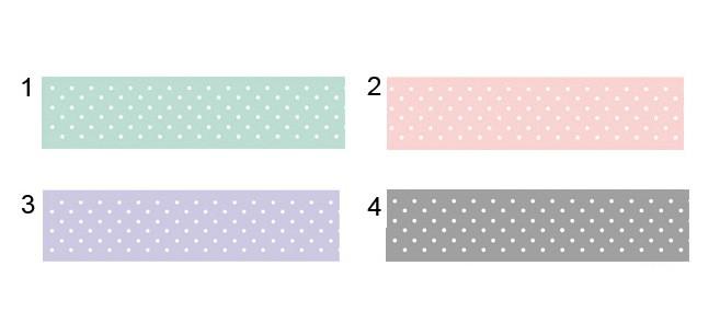 ידיית דקורטיבית לשידת מגירות/ידית עץ מאורכת בהדפס נקודות/ידית לארון בגדים
