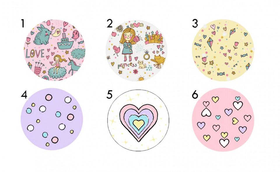 סט ידיות מעוצבות לחדר הילדים/ידיות לשידת החתלה/עיצוב חדרי תינוקות/ידיות לארון