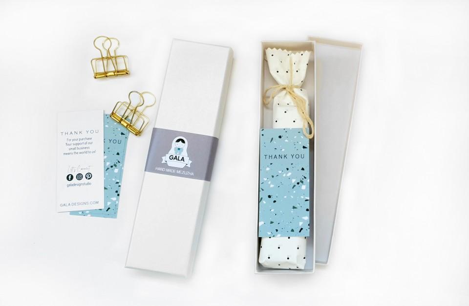 6 Modern Mezuzah cases/Home decor Judaica/Judaica Gifts/Mezuzah Cover