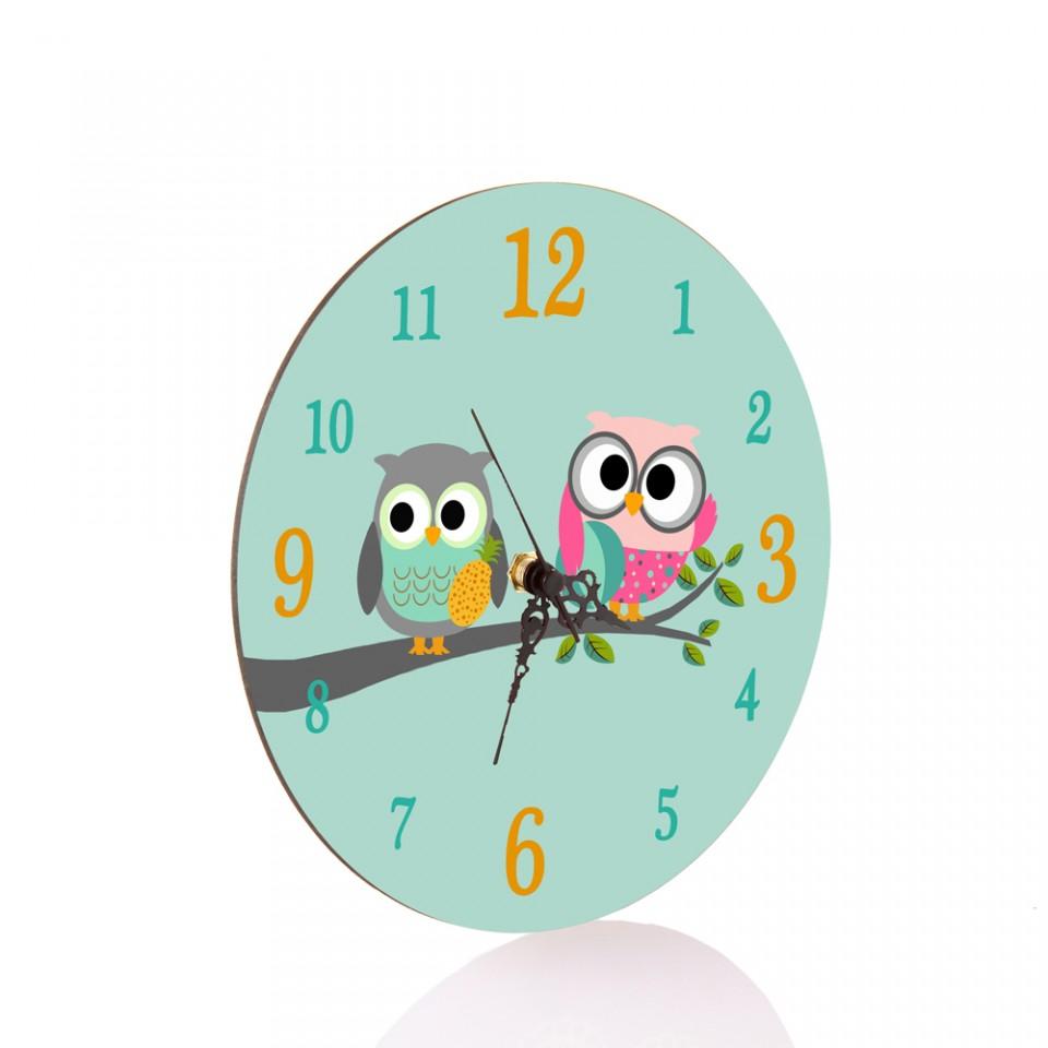שעון קיר לחדר הילדים/מתנות לימי הולדת בגן/מתנות סוף שנה