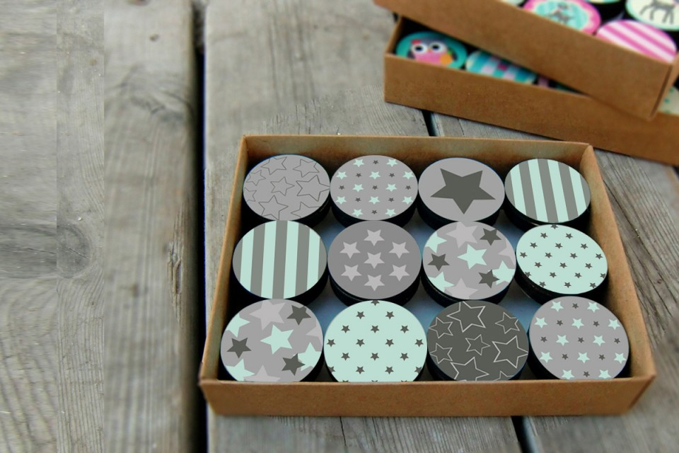 Kids Drawer Knobs/Drawer Pulls for kids room/Children's Drawer/Srats design