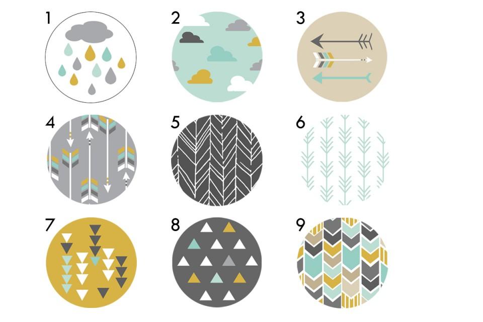 סט ידיות מעוצבות בסגנון סקנדינבי/ידיות עץ עגולות/ידיות לשידת מגירות/ידיות לארון/ידיות לשידת החתלה/עי