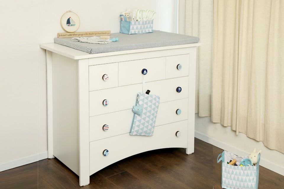 ידיות לחדרי ילדים ותינוקות/ידיות מעוצבות לשידת החתלה לחדר של תינוק/עיצוב ימי